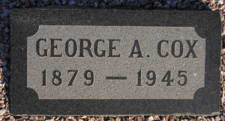 COX, GEORGE A(LBERT) - Maricopa County, Arizona | GEORGE A(LBERT) COX - Arizona Gravestone Photos