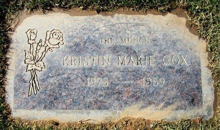 COX, KRISTEN MARIE - Maricopa County, Arizona | KRISTEN MARIE COX - Arizona Gravestone Photos