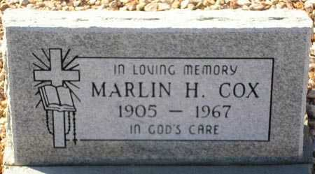 COX, MARLIN H. - Maricopa County, Arizona | MARLIN H. COX - Arizona Gravestone Photos