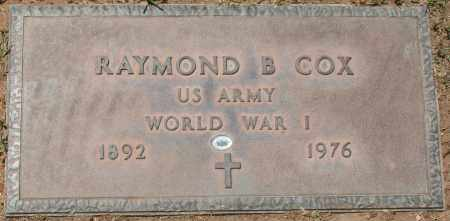 COX, RAYMOND B. - Maricopa County, Arizona | RAYMOND B. COX - Arizona Gravestone Photos