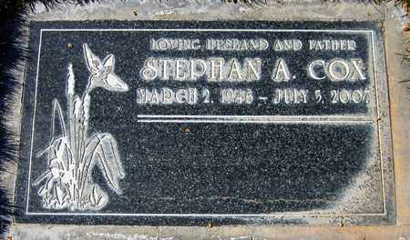COX, STEPHAN A. - Maricopa County, Arizona   STEPHAN A. COX - Arizona Gravestone Photos