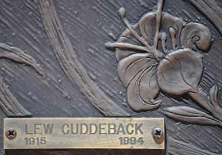 CUDDEBACK, MYRON LLEWELLYN - Maricopa County, Arizona   MYRON LLEWELLYN CUDDEBACK - Arizona Gravestone Photos