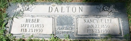 DALTON, HEBER - Maricopa County, Arizona | HEBER DALTON - Arizona Gravestone Photos