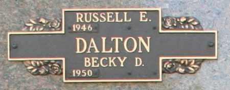 DALTON, RUSSELL E - Maricopa County, Arizona | RUSSELL E DALTON - Arizona Gravestone Photos