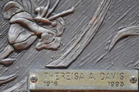 DAVIS, THEREISA A. - Maricopa County, Arizona | THEREISA A. DAVIS - Arizona Gravestone Photos
