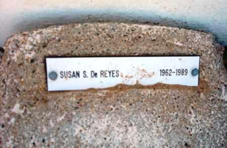 DE REYES, SUSAN S. - Maricopa County, Arizona   SUSAN S. DE REYES - Arizona Gravestone Photos