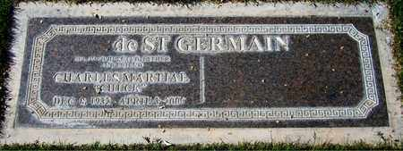 DE ST. GERMAIN, CHARLES MARTIAL - Maricopa County, Arizona | CHARLES MARTIAL DE ST. GERMAIN - Arizona Gravestone Photos
