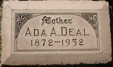 DEAL, ADA ALBERTA - Maricopa County, Arizona   ADA ALBERTA DEAL - Arizona Gravestone Photos
