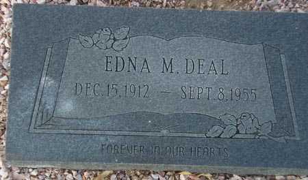 DEAL, EDNA M. - Maricopa County, Arizona | EDNA M. DEAL - Arizona Gravestone Photos
