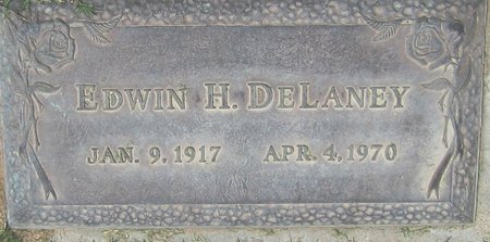 DELANEY, EDWIN H. - Maricopa County, Arizona | EDWIN H. DELANEY - Arizona Gravestone Photos