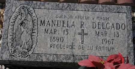 DELGADO, MANUELA R. - Maricopa County, Arizona   MANUELA R. DELGADO - Arizona Gravestone Photos