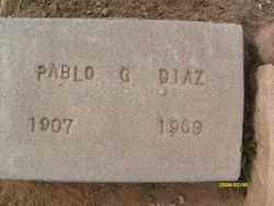 DIAZ, PABLO G. - Maricopa County, Arizona | PABLO G. DIAZ - Arizona Gravestone Photos