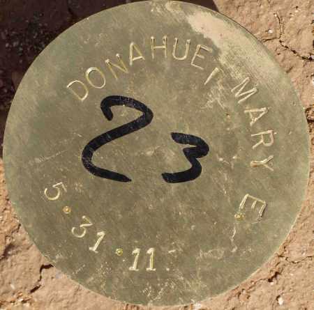DONAHUE, MARY ELLEN - Maricopa County, Arizona   MARY ELLEN DONAHUE - Arizona Gravestone Photos