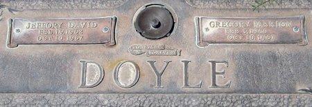 DOYLE, JEFFORY DAVID - Maricopa County, Arizona | JEFFORY DAVID DOYLE - Arizona Gravestone Photos