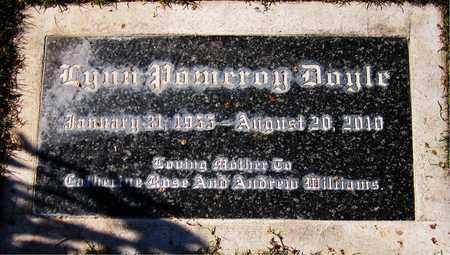 DOYLE, LYNN POMEROY - Maricopa County, Arizona | LYNN POMEROY DOYLE - Arizona Gravestone Photos