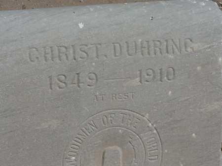 DUHRING, CHRISTIAN - Maricopa County, Arizona | CHRISTIAN DUHRING - Arizona Gravestone Photos