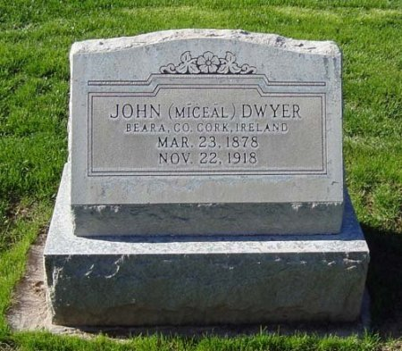 DWYER, JOHN - Maricopa County, Arizona | JOHN DWYER - Arizona Gravestone Photos