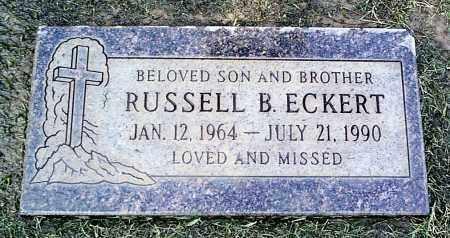 ECKERT, RUSSEL - Maricopa County, Arizona | RUSSEL ECKERT - Arizona Gravestone Photos