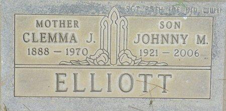 ELLIOTT, JOHNNY M - Maricopa County, Arizona   JOHNNY M ELLIOTT - Arizona Gravestone Photos