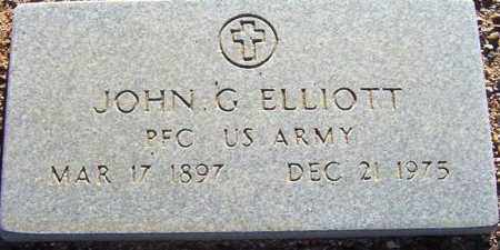 ELLIOTT, JOHN G. - Maricopa County, Arizona | JOHN G. ELLIOTT - Arizona Gravestone Photos