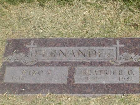 FERNANDEZ, BEATRICE - Maricopa County, Arizona | BEATRICE FERNANDEZ - Arizona Gravestone Photos