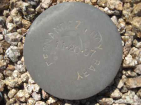 FERNANDEZ, BOY BABY - Maricopa County, Arizona | BOY BABY FERNANDEZ - Arizona Gravestone Photos