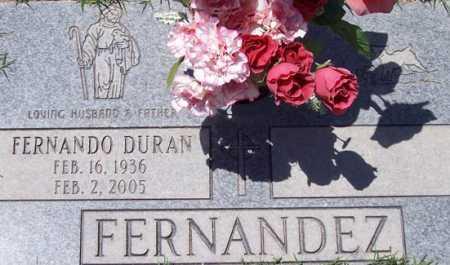 FERNANDEZ, FERNANDO DURAN - Maricopa County, Arizona | FERNANDO DURAN FERNANDEZ - Arizona Gravestone Photos