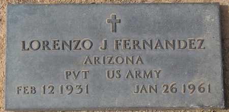 FERNANDEZ, LORENZO J. - Maricopa County, Arizona | LORENZO J. FERNANDEZ - Arizona Gravestone Photos