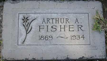 FISHER, ARTHUR A - Maricopa County, Arizona | ARTHUR A FISHER - Arizona Gravestone Photos
