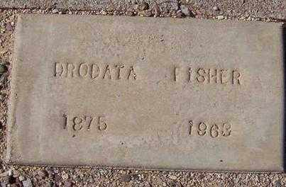 FISHER, DRODATA - Maricopa County, Arizona | DRODATA FISHER - Arizona Gravestone Photos