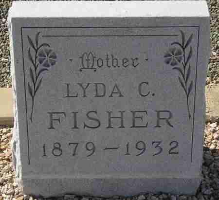 FISHER, LYDA C. - Maricopa County, Arizona   LYDA C. FISHER - Arizona Gravestone Photos
