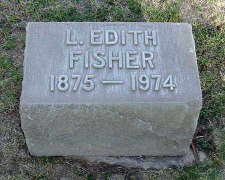 FISHER, L. EDITH - Maricopa County, Arizona | L. EDITH FISHER - Arizona Gravestone Photos