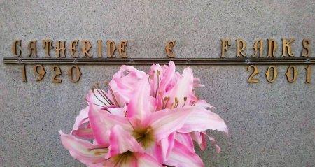 BYRNE FRANKS, CATHERINE ELIZABETH - Maricopa County, Arizona | CATHERINE ELIZABETH BYRNE FRANKS - Arizona Gravestone Photos