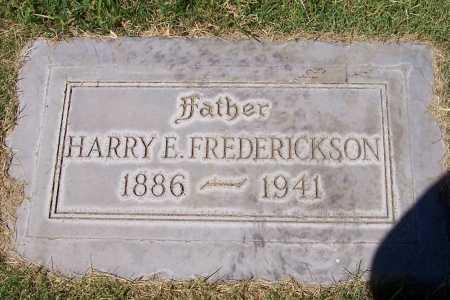 FREDERICKSON, HARRY E. - Maricopa County, Arizona | HARRY E. FREDERICKSON - Arizona Gravestone Photos
