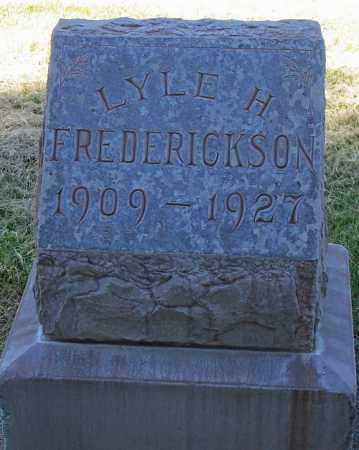 FREDERICKSON, LYLE H. - Maricopa County, Arizona   LYLE H. FREDERICKSON - Arizona Gravestone Photos