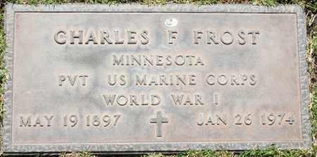 FROST, CHARLES F - Maricopa County, Arizona | CHARLES F FROST - Arizona Gravestone Photos