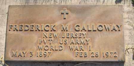 GALLOWAY, FREDERICK M. - Maricopa County, Arizona | FREDERICK M. GALLOWAY - Arizona Gravestone Photos