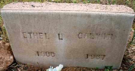 LEONARD GALVIN, ETHEL - Maricopa County, Arizona | ETHEL LEONARD GALVIN - Arizona Gravestone Photos