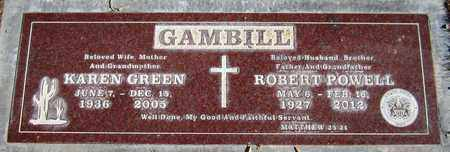 GAMBILL, KAREN - Maricopa County, Arizona | KAREN GAMBILL - Arizona Gravestone Photos