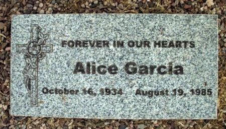 GARCIA, ALICE - Maricopa County, Arizona | ALICE GARCIA - Arizona Gravestone Photos