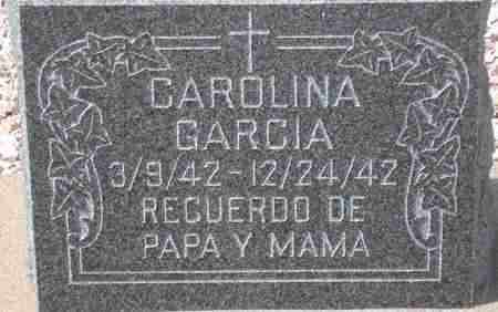 GARCIA, CAROLINA - Maricopa County, Arizona | CAROLINA GARCIA - Arizona Gravestone Photos