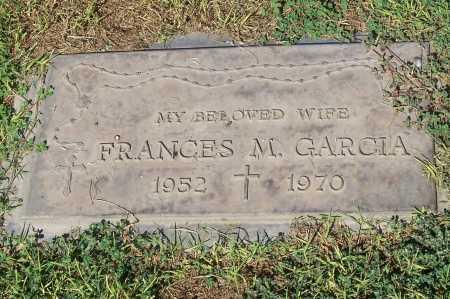 GARCIA, FRANCES M. - Maricopa County, Arizona   FRANCES M. GARCIA - Arizona Gravestone Photos