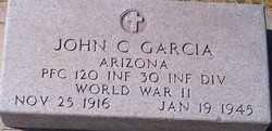 GARCIA, JOHN C. - Maricopa County, Arizona   JOHN C. GARCIA - Arizona Gravestone Photos
