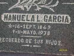 GARCIA, MANUELA L. - Maricopa County, Arizona | MANUELA L. GARCIA - Arizona Gravestone Photos