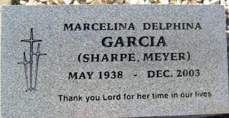 SHARPE - MEYER, MARCELINA DELPHINA - Maricopa County, Arizona | MARCELINA DELPHINA SHARPE - MEYER - Arizona Gravestone Photos