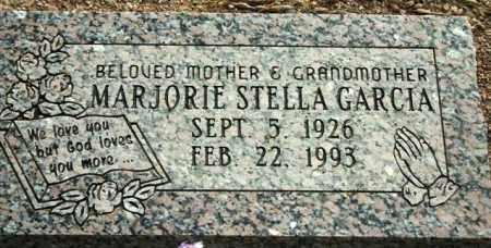 GARCIA, MARJORIE STELLA - Maricopa County, Arizona   MARJORIE STELLA GARCIA - Arizona Gravestone Photos