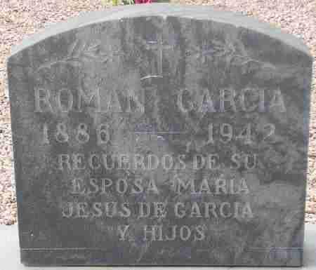 GARCIA, ROMAN - Maricopa County, Arizona   ROMAN GARCIA - Arizona Gravestone Photos
