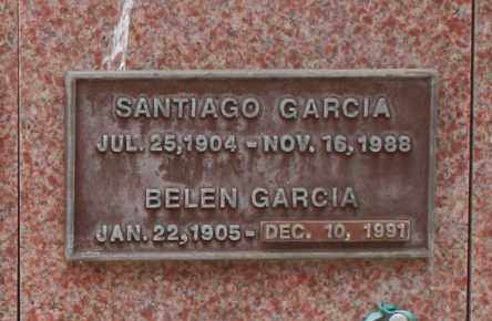 GARCIA, SANTIAGO - Maricopa County, Arizona | SANTIAGO GARCIA - Arizona Gravestone Photos