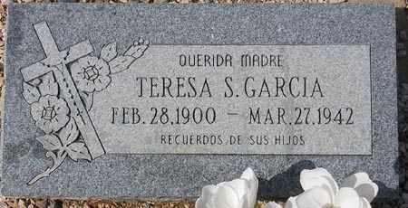GARCIA, TERESA S. - Maricopa County, Arizona | TERESA S. GARCIA - Arizona Gravestone Photos