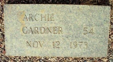 GARDNER, ARCHIE - Maricopa County, Arizona | ARCHIE GARDNER - Arizona Gravestone Photos
